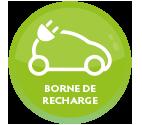 installation borne recharge véhicules électriques Tours 37